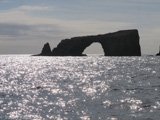Arch Rock, eroded by the Pacific Ocean, sits off the coast of Anacapa Island, one of the Channel Islands in the park. The rock has become a symbol of the park.